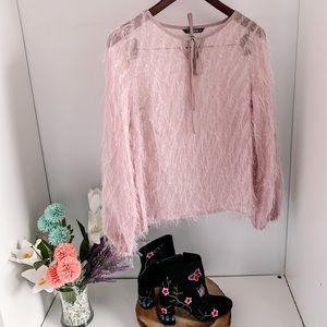 SHEIN Sheer Blouse - Size XS